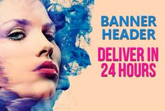 design PROFESSIONAL banners in 24 hours by hackinoss