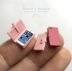 nunu's house miniature iphones