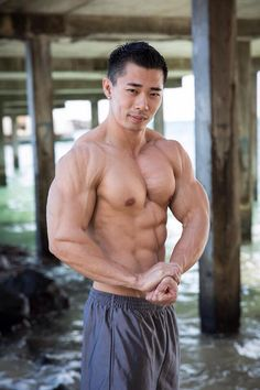 Asian muscle men picture — pic 14