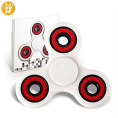 Omiky® 2017 Hand Spinner Fokus Spielzeug EDC Fidget Spinner Spielzeug Austism ADHS Bildung & Lernen Spielzeug Wahl (Weiß) - Fidget spinner (*Partner-Link)
