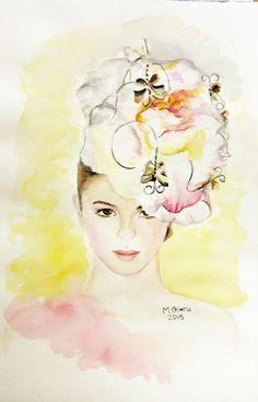 Mercedes Coloma, artista y artesana textil – Pintura a la acuarela, óleo y acrílico en diferentes temáticas, paisajes, marinas, ilustración de moda