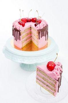 Cukor- és gluténmentes mákos meggytorta Kos, Cupcake Cakes, Cupcakes, Tart, Food And Drink, Birthday Cake, Sweets, Candy, Cookies