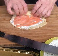 Lachsröllchen als Fingerfood oder als Vorspeise - Powered by @ultimaterecipe