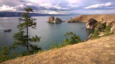 остров Ольхон озеро Байкал Olkhon Island Lake Baikal in eastern Siberia