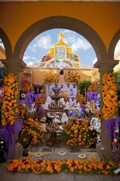 Day of the dead offering-Altar