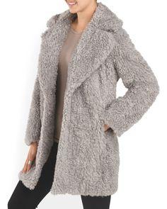 Faux Fur Wobby Coat