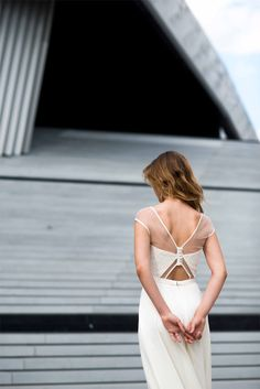 Mademoiselle de Guise - Robes de mariée - Paris - Collection 2016 | Modèle: Jeanne | Photographe: Ce jour-là | Donne-moi ta main - Blog mariage
