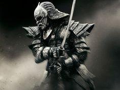 Krieger 47 Ronin Rüstung Säbel Helm Samurai Film Fantasy