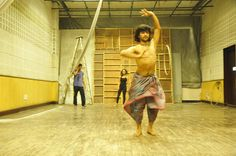 Bhumi, a Natyanectar production - Rehearsals