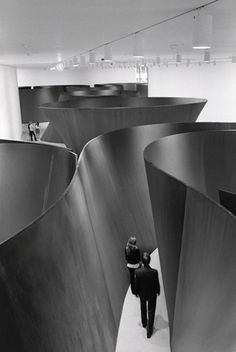 Richard Serra, Sequence (2006).  I saw a number of his works in Bilbao, but I want to see this now.