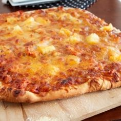 BBQ Chicken and pineapple pizza complete with a recipe for perfect ...