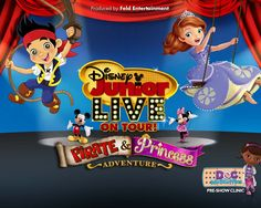 Disney Junior Live On Tour! Pirate and Princess Adventure