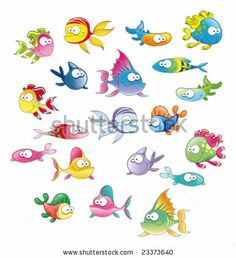 cute cartoon fish - Google Search