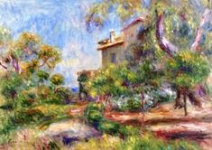 Villa at Cagnes - Pierre Auguste Renoir - The Athenaeum
