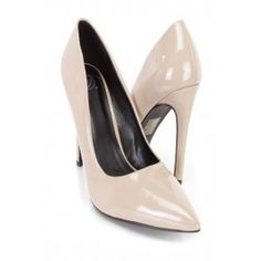 Dark Beige Single Sole Pump High Heels Patent Spring Shoes, Summer Shoes, Nude Heels, Stiletto Heels, High Heel Pumps, Pumps Heels, Prom Shoes, Dress Shoes, Dark Beige