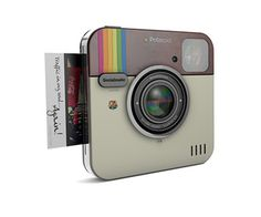 The Socialmatic camera will be Polaroid branded for 2014 launch Gadgets Électroniques, Cool Gadgets, Cool Technology, Technology Gadgets, New Polaroid Camera, Jet Set, Take My Money, Cool Inventions, Electronics Gadgets