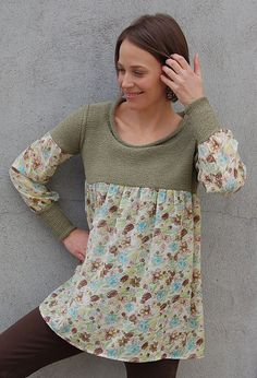 Ravelry: Best-of-Both Tunic Top pattern by Sally Melville