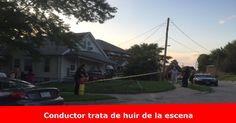 Conductor se estrella contra una casa Más detalles >> www.quetalomaha.com/?p=5740