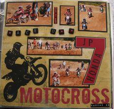 Motocross Race Day - Scrapbook.com