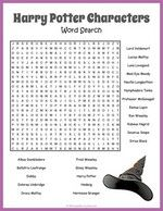 Free Printable Harry Potter Word Search Puzzle Harry Potter fans of all ages will love this word search puzzle. Hunt down the names of 22 colorful characters from J. Cadeau Harry Potter, Harry Potter Bricolage, Harry Potter Thema, Anniversaire Harry Potter, Harry Potter Word Search, Cumpleaños Harry Potter, Harry Potter Birthday, Harry Potter Characters Names, Harry Potter English