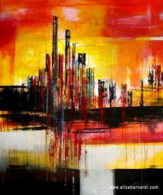 """Start Urban""  acrylic on canvas 120x100 cm www.alicebernardi.com"