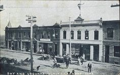 Downtown Lacombe 1908 Lacombe, AB Old Town, The Past, Louvre, Old Things, Street View, Canada, Times, History, City