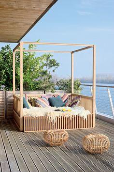 idées de terrasses et de salons d'été - Marie Claire Maison