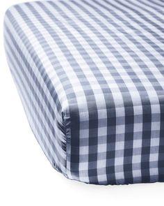 Gingham Crib Sheet