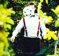 Doctor playing Football (soccer)