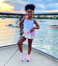 Teenage Girl Outfits, Kids Outfits Girls, Little Girl Outfits, Cute Outfits For Kids, Toddler Girl Outfits, Cute Black Kids, Black Baby Girls, Beautiful Black Babies, Cute Baby Girl