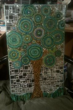 Summer OOAK Stunning mosaic art for your home by beverlytjenkins, $500.00 Mosaic Diy, Mosaic Crafts, Mosaic Projects, Mosaic Glass, Mosaic Tiles, Fused Glass, Art Projects, Glass Art, Stained Glass