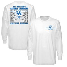 Mens Kentucky Wildcats Champs T-Shirt