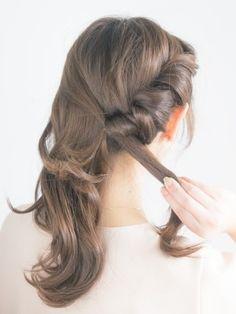40代のまとめ髪に!大人に似合う簡単ヘアアレンジ [ヘアアレンジ] All About Hair Arrange, Health And Beauty, Hair Beauty, Make Up, Long Hair Styles, Hairstyles, Nails, Products, Fashion