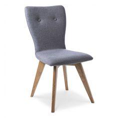 Stuhl Pamplona 2er Set - 4 Fuß Stühle - Stühle & Freischwinger - Esszimmer - Möbel Pamplona, Dining Chairs, Furniture, Home Decor, Gray Fabric, Cantilever Chair, Chair, Essen, Table