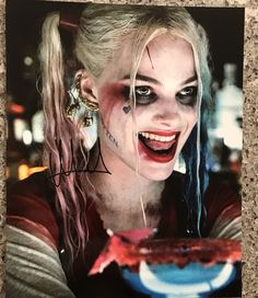 Imagen de harley quinn, suicide squad, and margot robbie Harley Quinn Tattoo, Harley Quinn Cosplay, Joker And Harley Quinn, Maquillage Harley Quinn, Harey Quinn, Margot Robbie Harley Quinn, Maquillage Halloween, Favim, The Villain