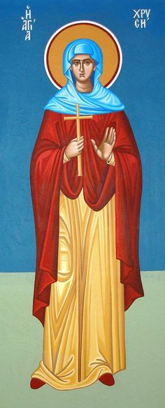 St. Chryse / St. Zlata by Alexandra Kaouki of Crete