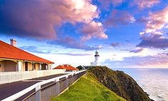 Cape Byron Lighthouse Keepers Cottages. Photo Credit: D. Young, Wild About Whales.