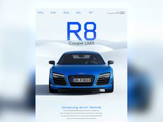 Audi R8 on Behance