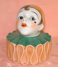 Noritake clown inkwell [Trapani Collection]