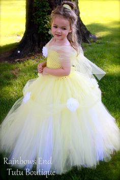 Princess Belle Tutu Dress size NB to gilrs 6 www.etsy.com/listing/163079591/princess-belle-tutu-dress-size-nb-3m-6?ref=shop_home_active