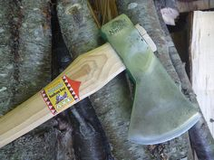 Norlund Hudson Bay Axe -Vintage axes and hatchets
