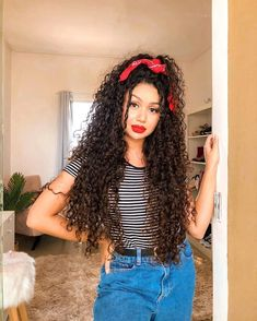 Lace Frontal Wigs Cute Hairstyles To Do With Curly Hair Half Curly Half Straight Hairstyles Best Women Curly Wigs Divaswigs Curly Curly Hair With Bangs, Short Curly Hair, Big Hair, Curly Hair Styles, Cute Curly Hairstyles, Slick Hairstyles, 1950s Hairstyles, Curly Wigs, Human Hair Wigs