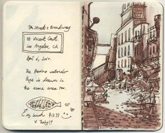 "sketchbook monthlies: march - ""this is where I live"""