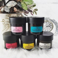 Beauty Fix: Face Masks! Multi-masking with The Body Shop masks!Multi-masking with The Body Shop masks! Body Shop At Home, The Body Shop, Multi Masking, Advanced Skin Care, Cosmetic Design, Cruelty Free Makeup, Natural Deodorant, Skin Firming, Beauty Make Up