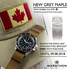 From the Maple Leaf Collection. Inspired by its Symbolic Meaning of Unity, Tolerance, and Peace.  #GSAR #marathonwatch