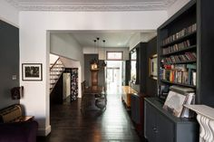 Behind an elegant Victorian façade, this three / four-bedroom terraced house with south-facing garden has been completely transformed into a superior modern home by the current owners. The front reception room, opened up to incorporate the hall, is decorated in rich tones that create a sophisticated space. Restored original floorboards tie the old with the […]