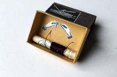 Letters to you matchbox art by paperiaarre on Etsy                                                                                                                                                     More