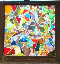Charmed Enchantments: Stained Glass Mosaic Windows