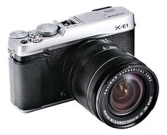 Fuji X-E1 will have an electronic viewfinder, via PhotoRumors.com.