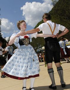 Bavaria...folk dancing. How much fun, Octoberfest would be a great time to visit Germany.